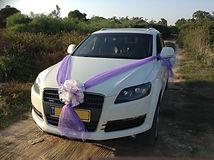 קישוט רכב לחתונה מס'35