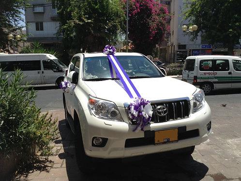 קישוט רכב לחתונה | מס' 10