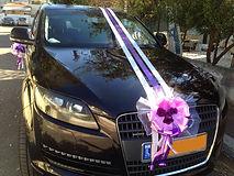 קישוט רכב לחתונה מס'30