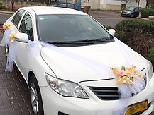 קישוט רכב לחתונה מס'46
