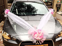 קישוט רכב לחתונה מס'47