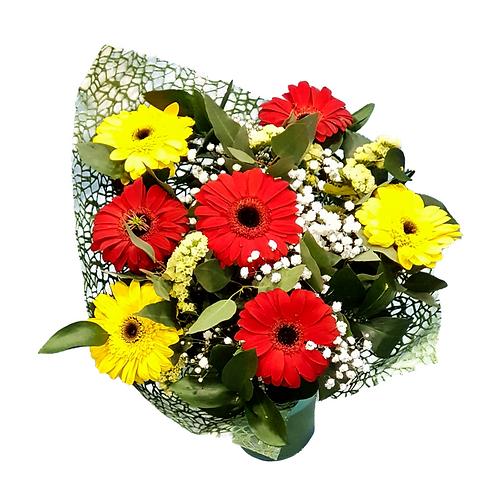 זר מיקס גרברות - משלוח פרחים