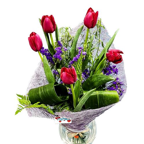 זר צבעונים פנטסטיים - משלוח פרחים
