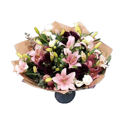 זר פריחת הליליות - זר פרחים למשלוח