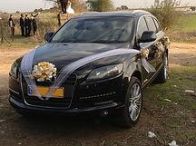 קישוט רכב לחתונה מס'8
