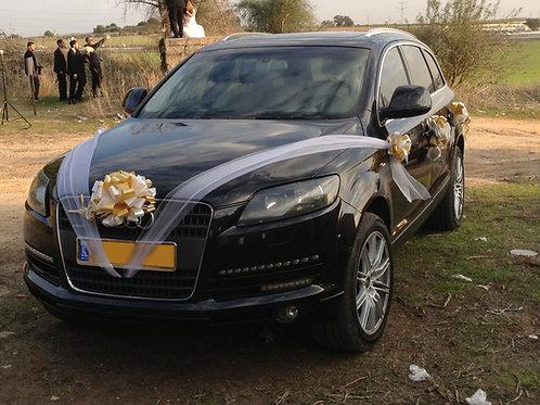 קישוט רכב לחתונה | מס' 8