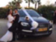 שחור הושכר לחתונה Q7 רכב לחתונה: אאודי
