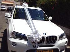 קישוט רכב לחתונה מס'38
