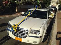 קישוט רכב לחתונה מס'29