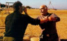 создатель Крав Мага - Ими-Сдэ-Ор (Лихтенфельд) проводит тренировку