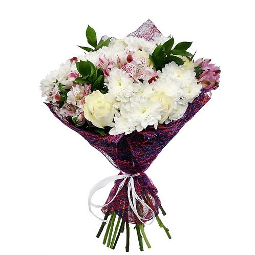 זר נוסטלגיה - משלוח פרחים