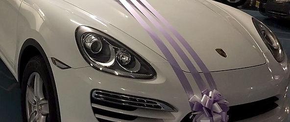 רכב לחתונה: פורש מושכר מקושט