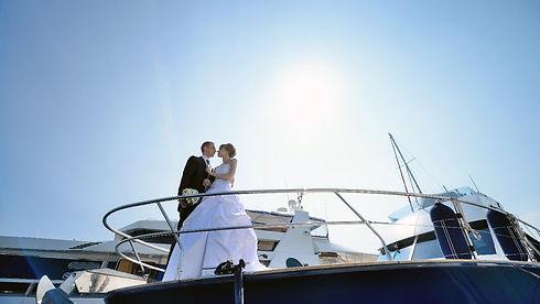 צילום חתונה ביאכטה