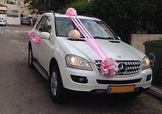 קישוט רכב לחתונה מס'6