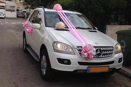 קישוט רכב לחתונה | מס' 6