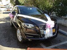 קישוט רכב לחתונה מס'14