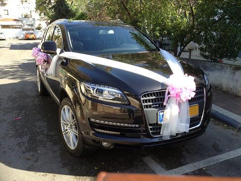קישוט רכב לחתונה | מס' 14
