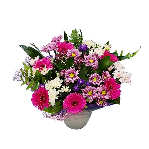 זר פרחים בשם לשמח אותך - משלוח זרים