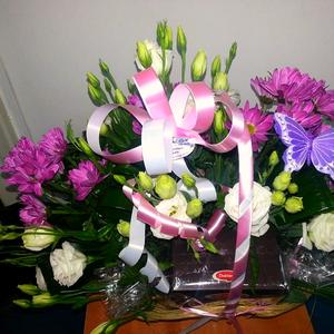 סידור פרחים למשלוח