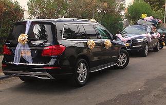 GL450 רכב לחתונה: גדול, מפואר ויוקרתי - מרצדס