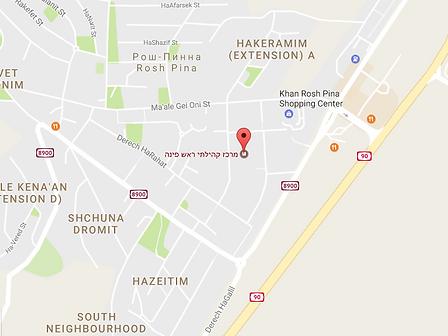 зал Крав Мага в Рош-Пина