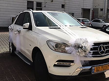 קישוט רכב לחתונה מס'42