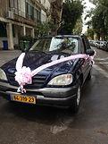 קישוט רכב לחתונה מס'19