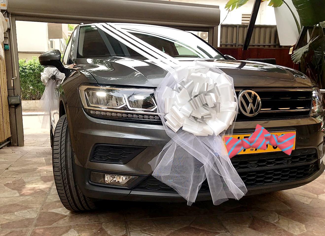 קישוטי רכב לחתונה בחולון