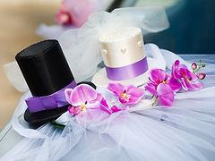 קישוט מיוחד לרכב חתונה