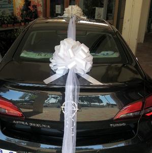 קישוט רכב לחתונה בכרמיאל