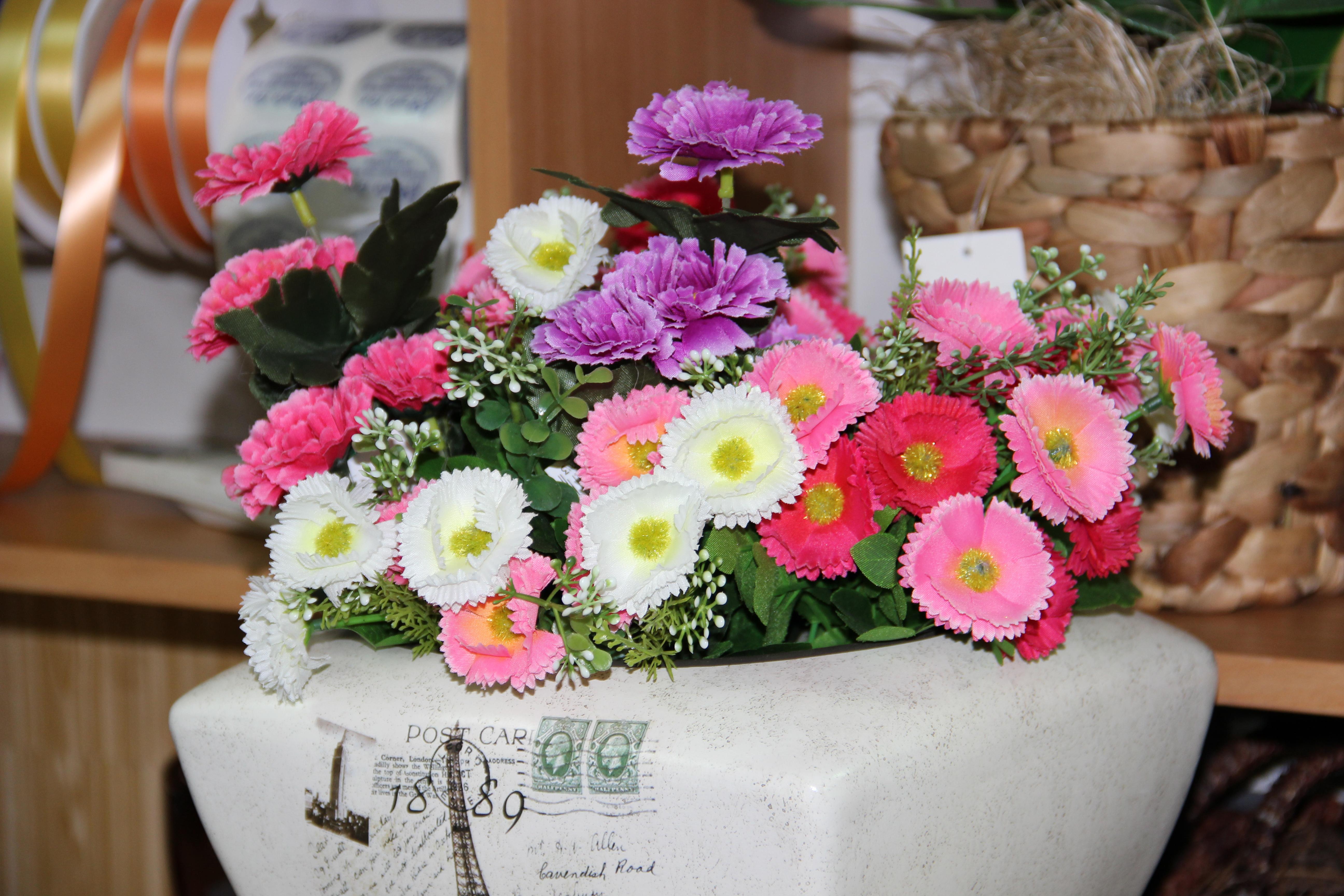 סידור פרחים