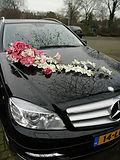 קישוט מיוחד לרכב מרצדס לחתונה