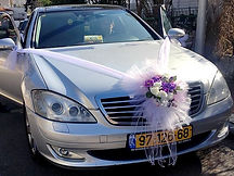קישוט רכב לחתונה מס'55