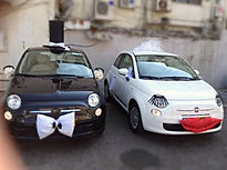 קישוט רכב מיוחד לחתונה ואירועים