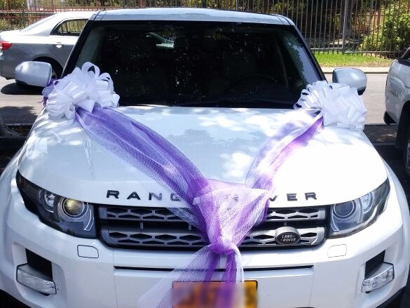 Car decoration for wedding №11 in a virtual store