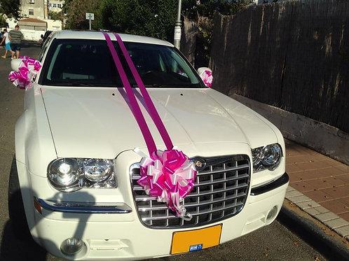 קישוט רכב לחתונה | מס' 5
