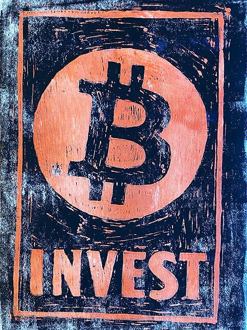 Invest ₿ - Black