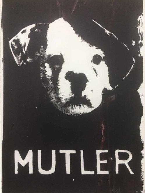 Mutler - Silkscreen Print