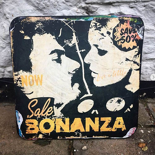 Sale Bonanza - Print on Wood