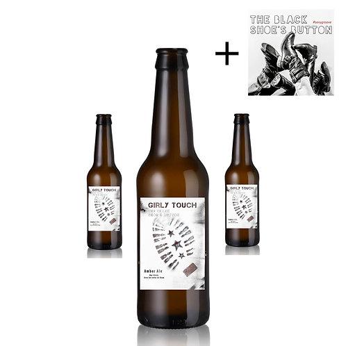 GIRLY TOUCH | Pack de 4 bières ambrées au Rhum + CD