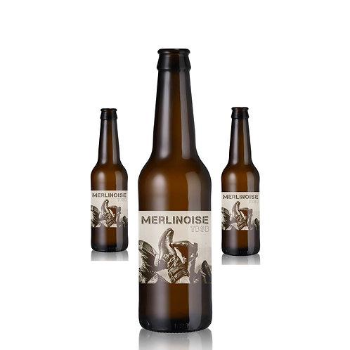 ''La Merlinoise'' TBSB | Pack de 4 bières ambrées