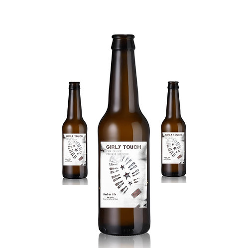 GIRLY TOUCH | Pack de 4 bières ambrées au Rhum