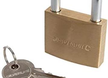 50mm Silverline Padlock with 10 Keys