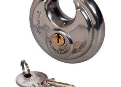 70mm Disc Padlock with 20 Keys