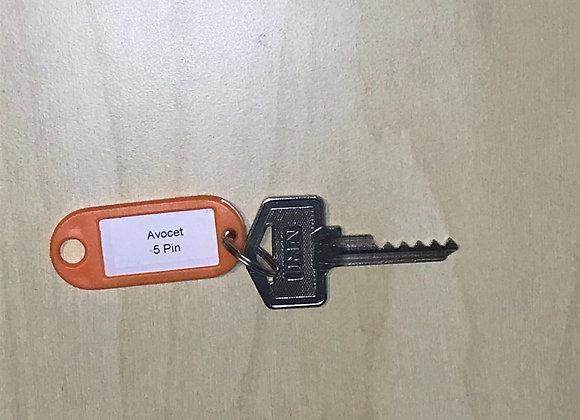 Avocet 5 Pin Bump Key