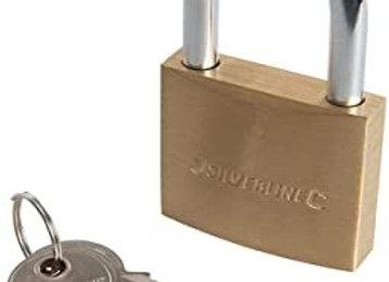 50mm Silverline Padlock with 20 Keys
