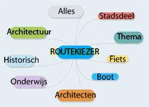 Routekiezer rondleiding Amstrdam