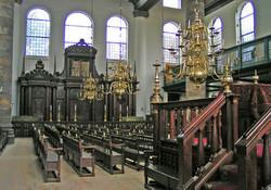 Intérieur synagogue portugaise
