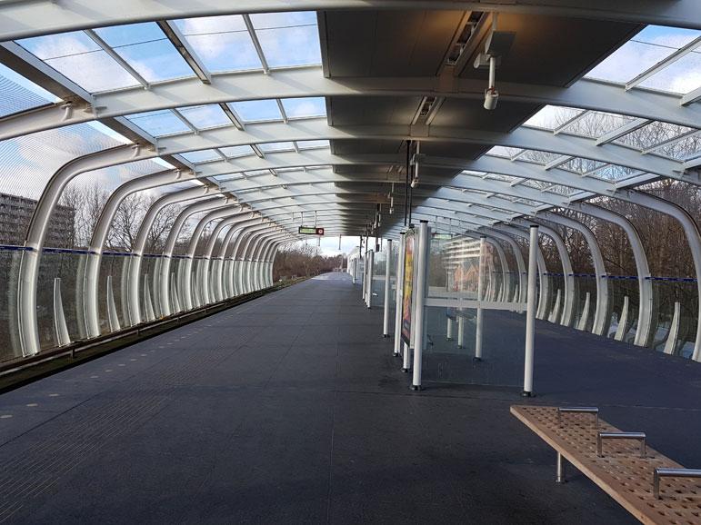 Metrostation Ganzenhoef