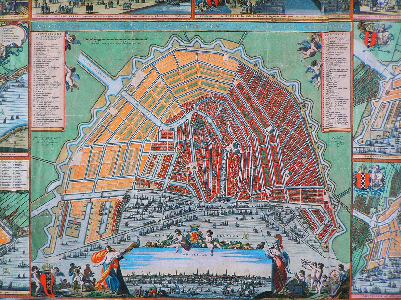Kaart 1664